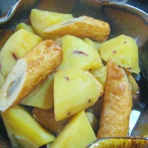 我が家では取り合い!☆さつま芋とごぼう天の煮物☆