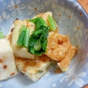 香ばしい!豆腐のニンニク焼き