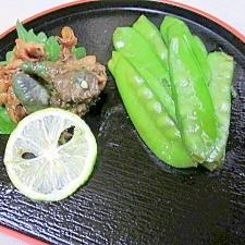小料理屋のおつな一品☆ 「アワビの肝醤油煮」