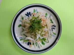 超簡単!大葉たっぷり大根サラダ