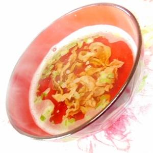 ❤ほたて貝ひもと葱と生姜の簡単スープ❤