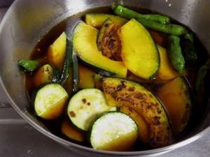【常備菜】夏野菜の焼きびたし