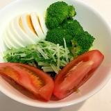 野菜を沢山摂りましょう☆具沢山茹で卵のサラダ