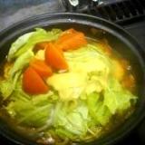 タジン鍋でささみのトマトキャベツ煮☆リゾットまで♪
