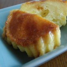 プリン蒸しパン