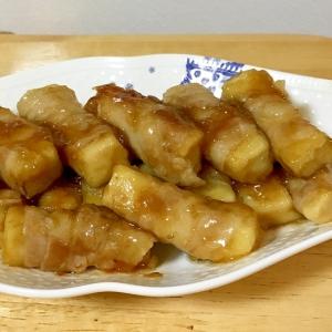 高野豆腐の肉巻き煮