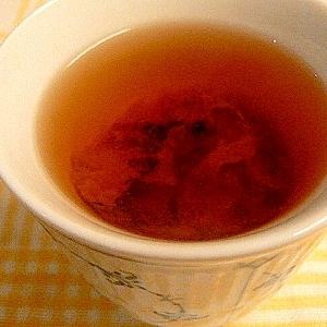 焼き梅干し入り番茶★梅醤番茶風~寒気がしたときに