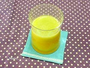 キャベツ入りオレンジジュース