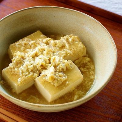 まるでチーズ?!クリーミーでもっちりした「塩豆腐」で絶品中華あんかけ