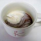 ホイップクリームで簡単♪ウィンナーコーヒー