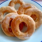 ホットケーキミックスで簡単焼きドーナツ☆