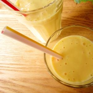 マンゴーベース♪マンゴー&バナナのラッシー風