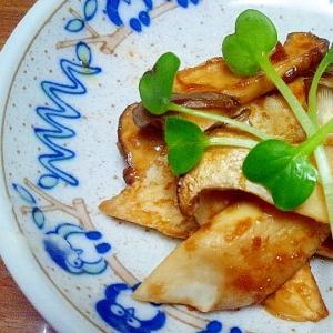 エリンギの生姜醤油炒め