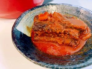 ホットクックで作るピリ辛!韓国風スペアリブ