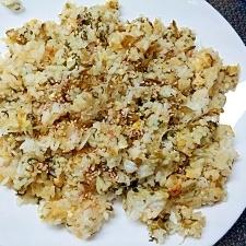ご飯から炒める・高菜と卵のチャーハン