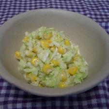 マヨネーズひかえめコールスローサラダ