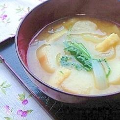 きょうふの味噌汁