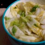 超簡単☆白菜の漬物