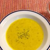 ミキサーで簡単カボチャスープ