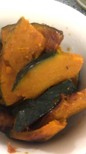 かぼちゃ焼き☆焼肉のタレで家族が食べる野菜に
