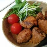 天ぷら粉で簡単★「ブリの竜田揚げ」
