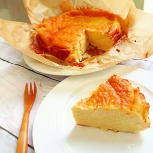 米粉deバスク風チーズケーキ〔グルテンフリー〕