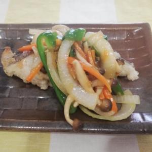 カレイの唐揚げ&野菜あんかけ