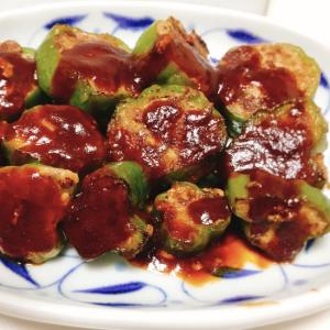 【夫婦のおつまみ】豆腐入り!ピーマンの肉詰め