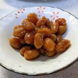 みたらし醤油の胡麻大豆