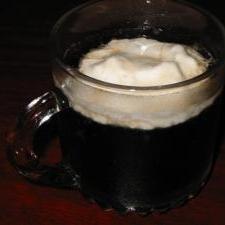 焼酎のコーラ割りホイップクリームフロート