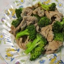 めちゃうま豚肉とブロッコリーのクレイジーソルト炒め