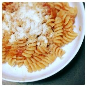 簡単シンプル♪すぐ出来るトマトパスタ