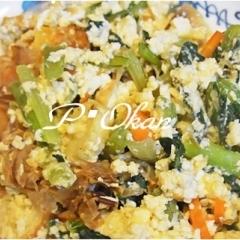 簡単☆小松菜チャンプル