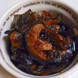 新生姜でしいたけと昆布鰹節のつくだ煮