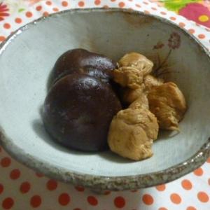 減塩☆干し椎茸と鶏ささみのさっぱり煮物♪