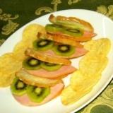 フランスパンのオードブル風サンド