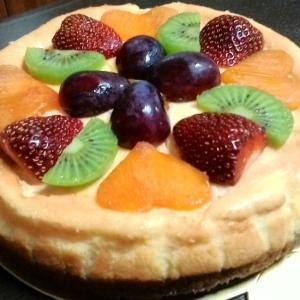 ミキサーで簡単☆ベイクドチーズケーキ