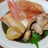 高級魚は昆布だしで☆ 「メヌキの煮付」