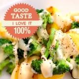 レンジで簡単♪ブロッコリーとポテトのマヨチーズ