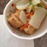 厚揚げと白菜のシンプル♪シンプル♪煮物☆