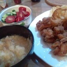 から揚げ(おろしポン酢味)