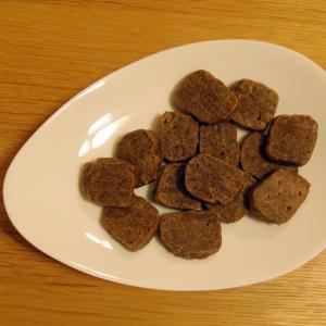 はったい粉と強力粉で作るクッキー
