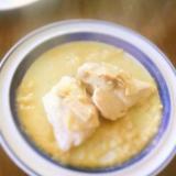 レンジで簡単 シチュウのルウでチキンのクリーム煮