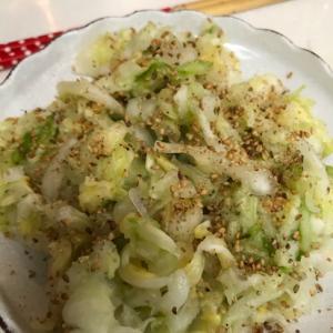サラダ白菜であっさり漬物