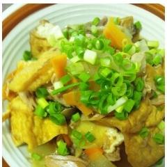 厚揚げとツナの野菜煮