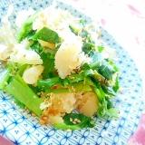 白だしde❤数の子と小松菜のとりあえず❤