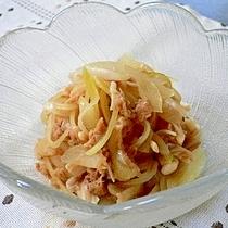 玉葱とツナの甘酢煮
