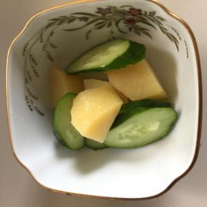 きゅうりと新ジャガイモの前菜