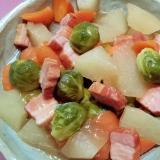 芽キャベツのうま煮