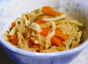 簡単!砂糖なし重ね煮の切り干し大根の煮物